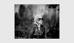 (WOGO*) Tags: aero ektar 178mm graflex super d polaroid 665 instant film portrait bw bokeh mother