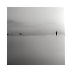 Sunrise (K.Pihl) Tags: nd10 morning longexposure harbour sonnar150mmf40 monochrome hasselblad500cm aarhus rodinal1100 standdevelopment blackwhite schwarzweiss bw pellicolaanalogica film analog
