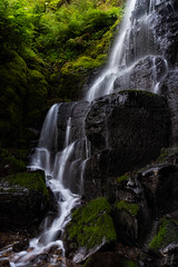 Slice of Heaven (Joshua Johnston Photography) Tags: columbiarivergorge oregon pacificnorthwest pnw joshuajohnston sonya7iii sonyfe28mmf2 waterfall moss rocks nature