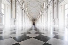 Turijn, Galleria Grande. (parnas) Tags: galleriagrande reggiadivenariareale torino turijn italia vanishingpoint highkey