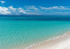 17 End at Shimoji Island, Okinawa, Japan (Nana* <salala817>) Tags: shimojiisland beach ocean sea okinawa blue 下地島 17end 17エンド 沖縄 ビーチ 海 青