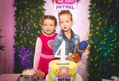 4º aninho da Cecília-118 (fotosdagreice) Tags: cenário festa aniversário menina criança aninho família bebê decoração rosa paw patrol patrulha canina diversão sorriso felicidade