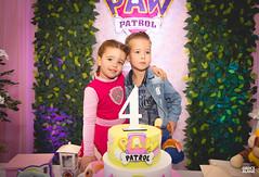 4º aninho da Cecília-116 (fotosdagreice) Tags: cenário festa aniversário menina criança aninho família bebê decoração rosa paw patrol patrulha canina diversão sorriso felicidade