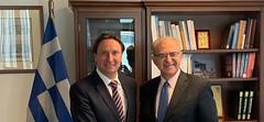 Συνάντηση ΥΦΥΠΕΞ, Α. Διαματάρη, με τον  πρόεδρο της ελληνικής κοινότητας Μελβούρνης, Βασίλη Παπαστεργιάδη   (Αθήνα, 07.08.2019) (Υπουργείο Εξωτερικών) Tags: diamataris mfaofgreece greekdiaspora melbourn australia athens διαματαρησ υφυπεξ ομογενεια μελβουρνη αυστραλια ελλαδα αθηνα παπαστεργιαδησ papastergiadis