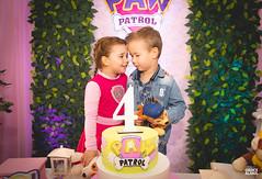 4º aninho da Cecília-117 (fotosdagreice) Tags: cenário festa aniversário menina criança aninho família bebê decoração rosa paw patrol patrulha canina diversão sorriso felicidade