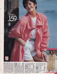 Journey into the past (betrenchcoated) Tags: jacket jacke regenjacke vintage microfaser 90s scans