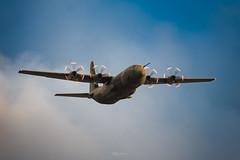 RAF Beach Landing Exercise - Pembrey (mathewbrowne) Tags: raf hercules c130 brizenorton pembrey carmarthenshire wales