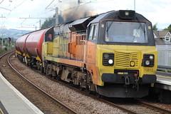 CAMELON 70812 (johnwebb292) Tags: camelon diesel class 70 70812 colasrail