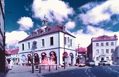 Dursley Market Place (Matt Bigwood) Tags: dursley gloucestershire infrared cotswolds town hall nikon d100 adapted camera