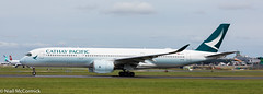 B-LRL Cathay Pacific Airbus A350-941 (Niall McCormick) Tags: dublin airport eidw aircraft airliner dub blrl cathay pacific airbus a350941