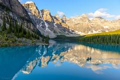 Glow (pn.praveen) Tags: banffnationalpark morainelake sunrise alpenglow lakelouise canadianrockies canada alberta