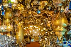 Ali Baba's Cave (patuffel) Tags: ali babas cave alibaba baba marrakesh marrakesch marrakech shop lamp lamps morocco marokko leica 28mm summicron m10 souvenir light