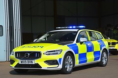 WK19 BVN (S11 AUN) Tags: dc devon cornwall police volvo v60 d4 anpr roads policing unit rpu 999 traffic car driver training tpac incident response panda patrol area emergency vehicle wk19bva