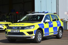 WA67 GJV (S11 AUN) Tags: devon cornwall police vw volkswagen touareg v6 tdi 4x4 anpr video equipped rpu roads policing unit traffic car 999 emergency vehicle wa67gjv