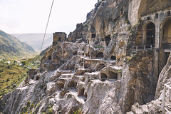 Vardzia, July 2019 (CSAOH) Tags: georgia georgie tbilisi borjomi akhaltsikhe vardzia საქართველო forest city landscape cave canyon hiking travel fortress ბორჯომი ახალციხე თბილისი ვარძია valley church tower