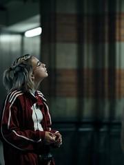 Phantom Kiss (claudia 222) Tags: amsterdam cs train station girl kiss phantom darkness candid daydreamer street gfx fuji fujifilm 110mm f2
