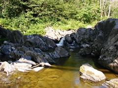 CHUTE DU RUISSEAU STAFFORD (Yvan Boudreault) Tags: chute cascade waterfall water eau landscape paysage