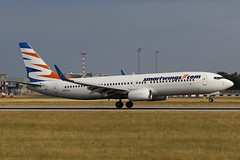 N917XA PRG 02.08.2019 (Benjamin Schudel) Tags: n917xa eastern xtra airways boeing 737800 smartwings prg prague vaclav havel international airport czech republic