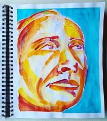 Christian Montone - Sketchbook (2019) (Christian Montone) Tags: drawing painting art montone christianmontone portrait sketchbook sketch mixedmedia drawings paintings watercolor pencil women