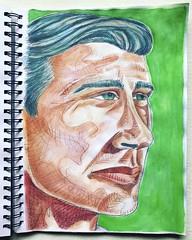 Christian Montone - Sketchbook (2019) (Christian Montone) Tags: drawing painting art montone christianmontone portrait sketchbook sketch mixedmedia drawings paintings watercolor pencil men