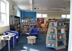 Photo of Inside Neyland library