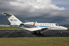 Cessna 525A Citation CJ2 9H-ALL Luxwing (Mark McEwan) Tags: airplane dundee aircraft aviation cessna dnd citation citationjet cj2 bizjet cessnacitation dundeeairport cessna525a cessna525 9hall luxwing