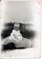 IMG_0096 Geoff Spafford RIP old B&W Family Photos. Unknown child (photographer695) Tags: geoff spafford rip old bw family photos unknown child