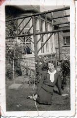 IMG_0085 Geoff Spafford RIP old B&W Family Photos. Unknown Lady (photographer695) Tags: geoff spafford rip old bw family photos unknown lady