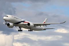 9M-MAD - LHR (B747GAL) Tags: malaysia airbus a350941 lhr heathrow egll 9mmad