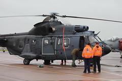 IMG_9888 (routemaster2217) Tags: riat royalinternationalairtattoo riat2019 airshow airbase airdisplay raffairford aviation aircraft helicopter rotarywing military rnlaf royalnetherlandsairforce dutchairforce eurocopteras532u2cougarmk2 s453