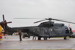IMG_9879 (routemaster2217) Tags: riat royalinternationalairtattoo riat2019 airshow airbase airdisplay raffairford aviation aircraft helicopter rotarywing military rnlaf royalnetherlandsairforce dutchairforce eurocopteras532u2cougarmk2 s453