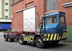 Terberg terminal tractor (Schwanzus_Longus) Tags: bremen german germany old classic vintage vehicle truck lorry terminal tractor trailer semi terberg trekker