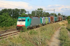 Lineas 2832 -186 224 Railpool 186 295 Gingelom 07-08-2019 (Break302) Tags: lineas railpool angeltrains l36 cargo shimmns reeks28 traxx