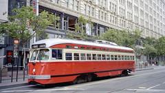 1998-07 San Francisco Tramway Nr.1059 (beranekp) Tags: usa california san francisco tramvaj tram tramway tranvia strassenbahn šalina elektrika električka pcc 1059
