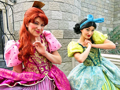 Anastasia and Drizella (meeko_) Tags: anastasia drizella tremaine anastasiatremaine drizellatremaine stepsister cinderella characters disneycharacters fantasyland magic kingdom magickingdom themepark walt disney world waltdisneyworld florida