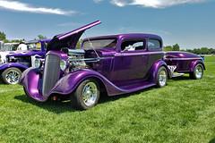 1934 Chevrolet 2 door sedan (skyhawkpc) Tags: 2019 arvada colorado co nikon allrightsreserved garyverver copyright gverver chevy chevrolet 2doorsedan cocacola trailer coke carshow