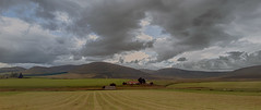The Braes of Glenlivet (judmac1) Tags: clouds sky hills farm moray fields scotland