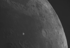 20190805 14-21UT ISS Lunar Transit (Roger Hutchinson) Tags: moon iss transit london astronomy astrophotography space celestron celestronedghd11 zwo asi174mm