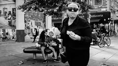 Street (MJ Black) Tags: liverpool liverpoolstreetphotography mono monochrome monochromephotography merseyside north northwest people peoplephotography portrait portraits candid candidphotography canon80d canon 80d street streetphoto streetphotograph streetphotography streets streetscene streetportrait shadows shadow highcontrast sigmaartlens sigma 1835 1835mm sigma1835 sigma1835mm women woman f8 18mm
