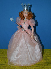 That Witch's New Wand (trev2005) Tags: mattel wizard oz billie burke glinda good witch doll action figure wand