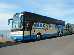 REP 916, Van Hool T916 Astron (miledorcha) Tags: reptons coaches executive travel little bookham surrey england rep916 van hool astron t916 tri three axle coach luxury quality corporate private hire psv pcv uk rally coachrally blackpool 2019