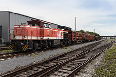 Diesellokomotive MaK G 1206 (ralf_hewing) Tags: tags hinzufügen wle warstein beckum kalkstein spezialwaggon privatbahn sauerland canon 80d güterzug cargotrain diesellokomotive westfälischelandeseisenbahn nrw
