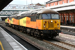 Triple bill at Nottingham (Russell Saxton) Tags: russellsaxton nottingham class56 class70 2019 locomotive grid midlandmainline 56090 56096 70811 colas