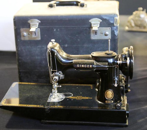 Black Singer Featherweight sewing machine ($212.80)