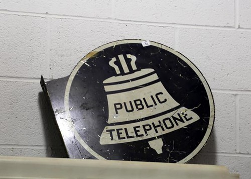 Telephone Sign ($78.40)