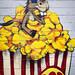 popcorn mural