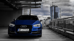 DSC_6923-7 (AnnGfoto) Tags: atomotive automotivefoto automotivefotography foto photo carphoto carphotography warsaw city urban audi s3 blue anngfoto