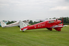 Dragon Rapide and Dragonfly (Aeroplanes Everywhere) Tags: aircraft civilianaircraft dehavilland airliners transportaircraft airshows dragonrapide canoneos5dmark3 aviation canon24mm105mm familyairshow airplanes oldwarden