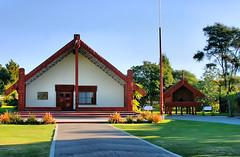 Maori Village in New Zealand (` Toshio ') Tags: toshio rotorua tamakimāorivillage maori village history culture newzealand thegatheringplace architecture aotearoa