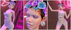 Purple neon (Cassy 666) Tags: gretel dress event unik oops new exclusive maitreya headpiece polona zibska salon 52 makeup tria lips tattoo catwa laq genus lelutka omega anybody eyemakeup